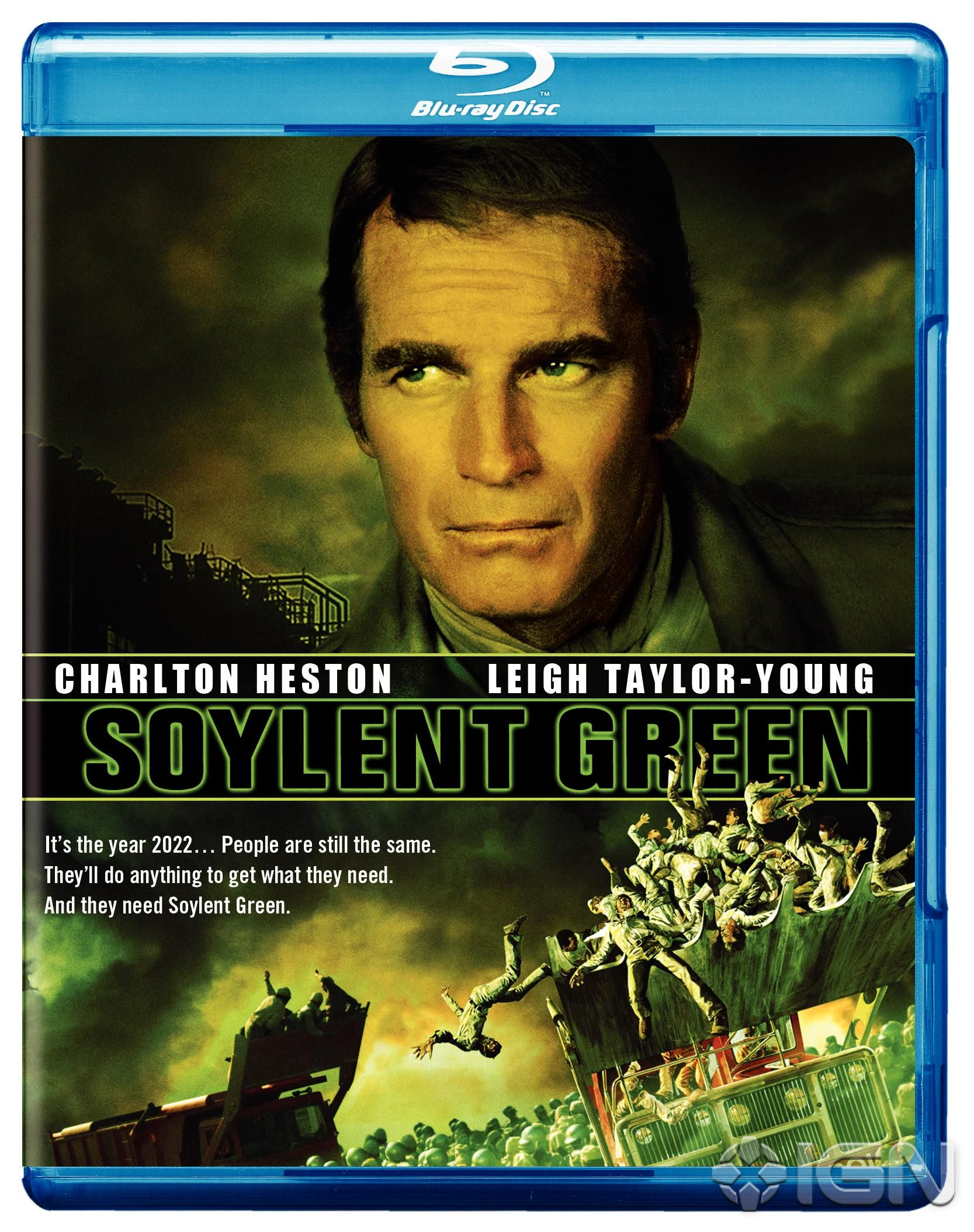 Soylent green is made out of people unprocessedginger for Soylent green